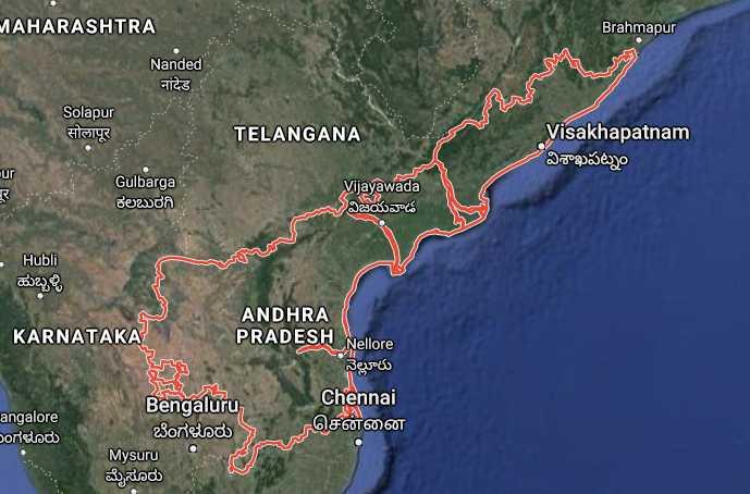 Andhra Pradesh ki jansankhya kitni hai