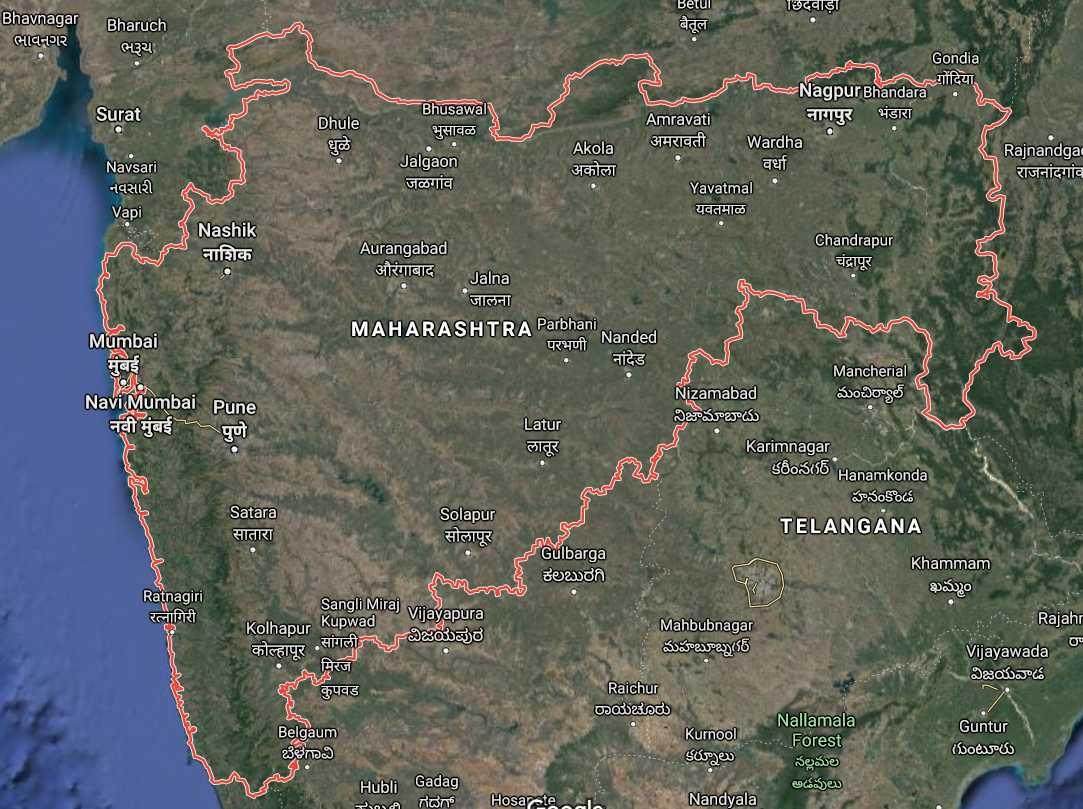 Maharashtra ki jansankhya kitni hai