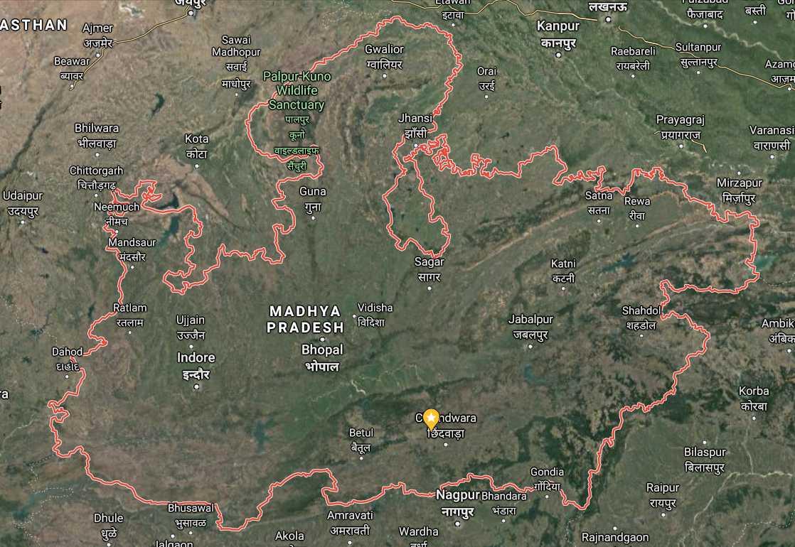 Madhya Pradesh ki jansankhya kitni hai