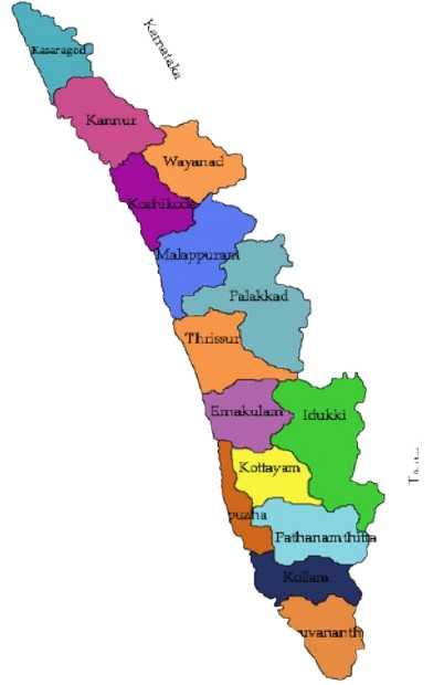 Kerala ki jansankhya kitni hai